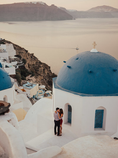 Santorini, Greece wedding photographer