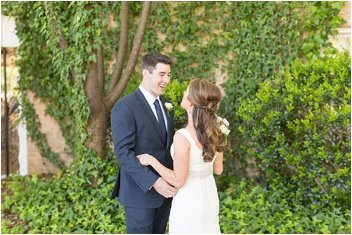 first look at Twigs Tempietto wedding in Greenville
