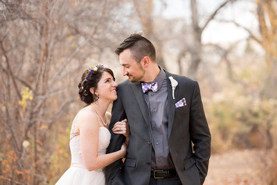 Colorado wedding photographer - couple portrait in Fort Collins