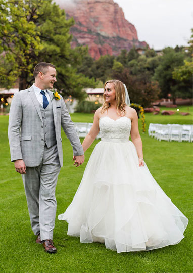 destination wedding at poco diablo resort in sedona arizona