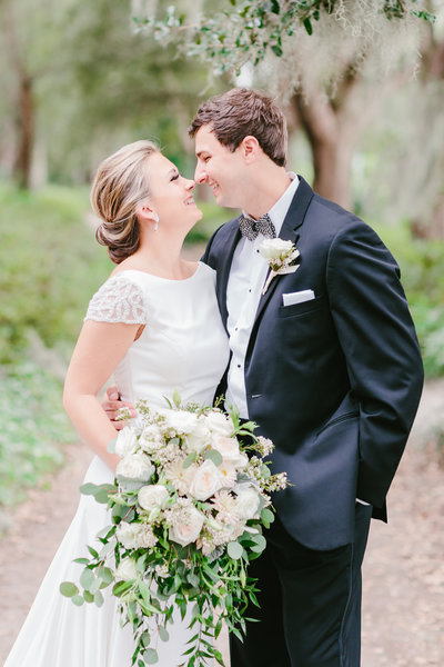 jean and john's charleston country club wedding