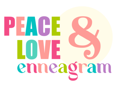 Peace Love and Enneagram main logo