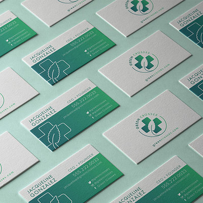 green_crosses_business_cards_portfolio