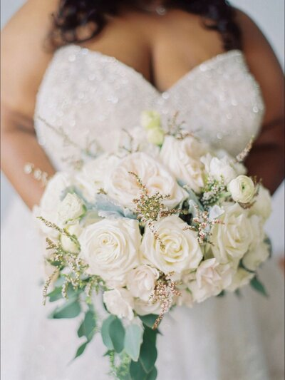 Wedding Dress details at Refined Bridal Shop
