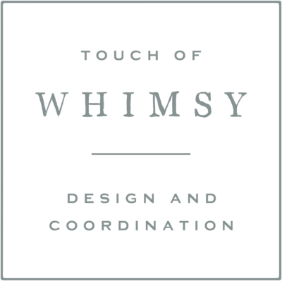 Touch of Whimsy - With Grace and Gold - Photo - Branding for Wedding Planners - 2