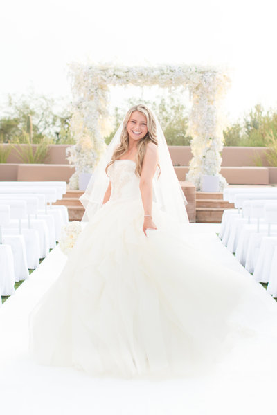 White Four Seasons Scottsdale, Arizona Wedding | Amy & Jordan Photography