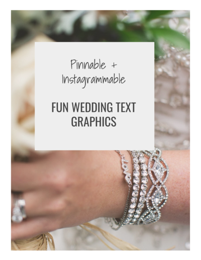 kelly lawson wedding graphics