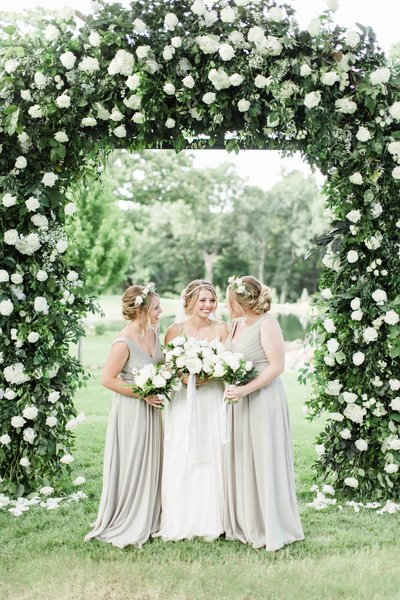 garden wedding in Oklahoma