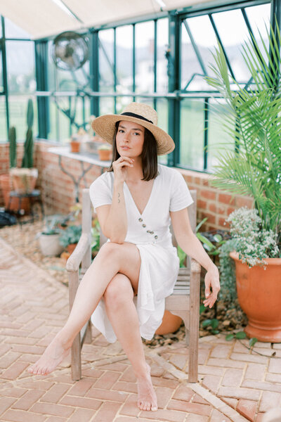 A summer greenhouse editorial