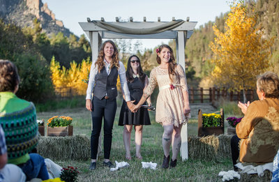 Beautiful-Fall-Same-Sex-Wedding-Ceremony-in-the-Mountains-of-Colorado