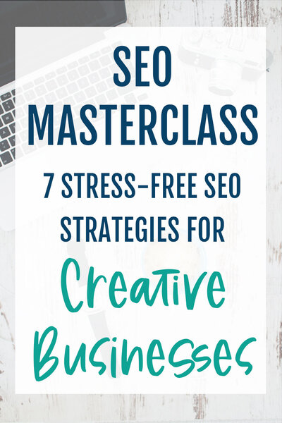 SEO masterclass for creative businesses