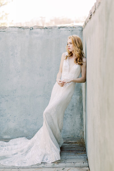 Bridal portrait in Denver Colorado