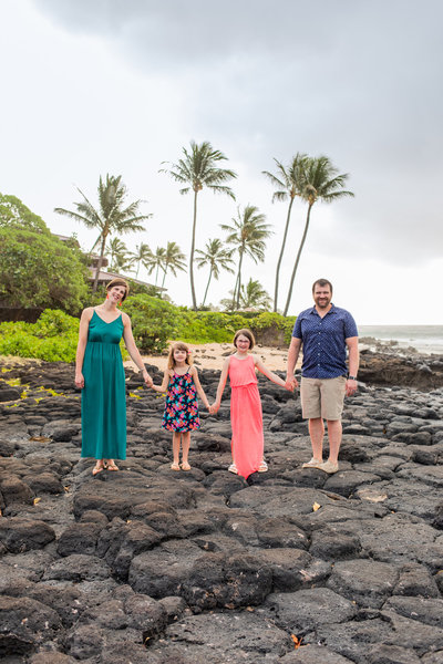 Kauai Family Portrait Tips
