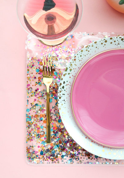 Make A Confetti Placemat-2