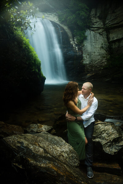 Looking-Glass-Falls-Engagement