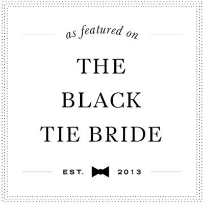 blacktiebridebadge