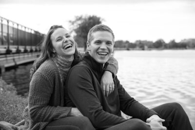 Engagement Shoot Olin Park Madison Wi-min