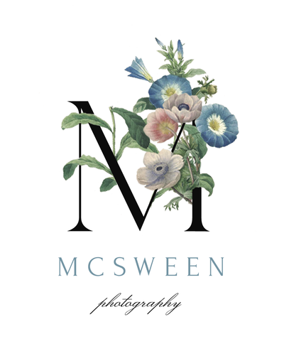 Asheville Wedding Photographer McSween Photography Logo