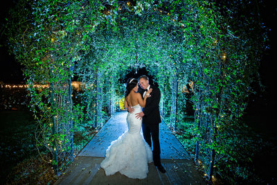 Timeless wedding photo  at Green Gables Estate in San Diego