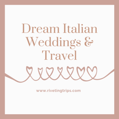 Dream italian weddings and travel podcast cover art