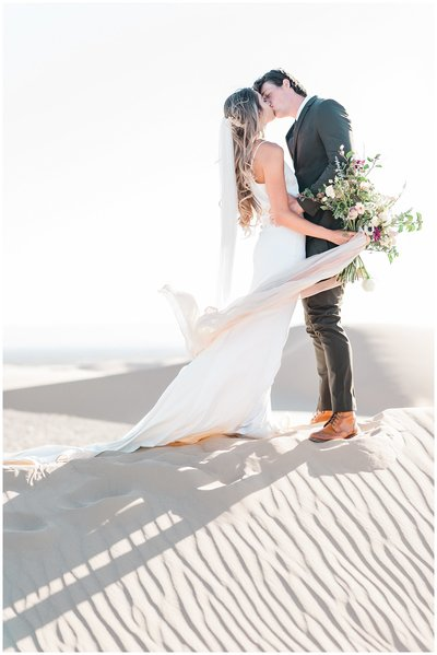 Glamis Desert Bohemian Wedding Styled elopement southern california sand dunes photo005
