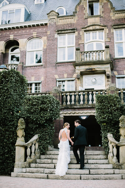 International German Castle Fine Art Film Wedding Photographer