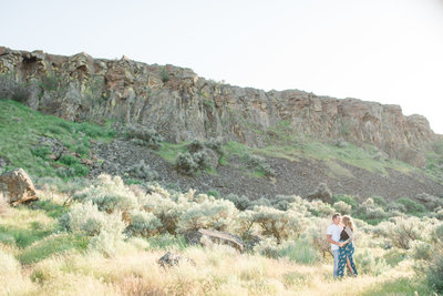 Maternity session in central washington