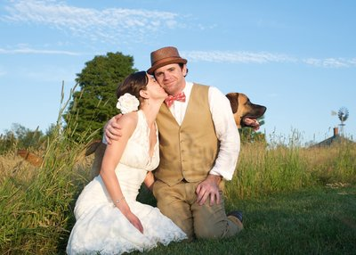 dog friendly Vermont wedding photographer 4