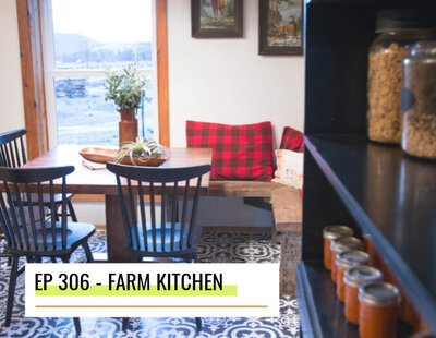 farm kitchen makeover