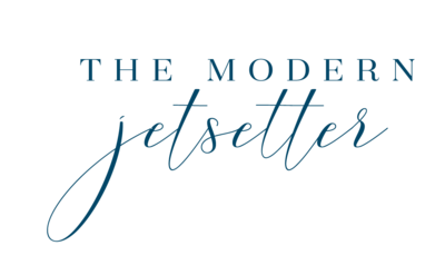 The Modern Jetsetter Stacked Logo