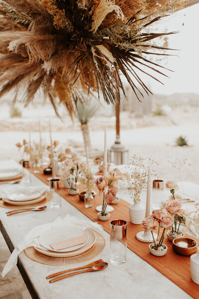 boho elopement photo at the willow house in terlingua by philadelphia wedding photographer bobbi phelps