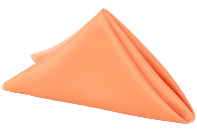 LamourSatin-Napkin-Orange