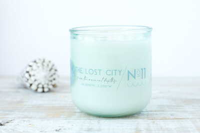 The Lost City Candle
