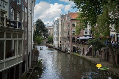 canal in utrecht netherlands