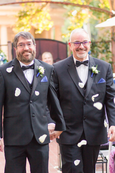 LGBT Downtown Sacramento Sterling Hotel Wedding by Adrienne and Dani Photography