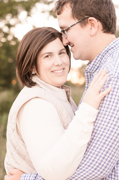 Fort Worth, Texas based motherhood photographer, Felicity Suzanne with her loving husband.