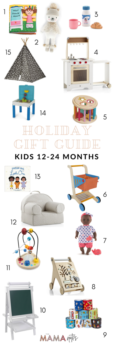 best holiday gifts 12-24 months