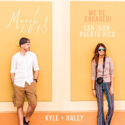 Proposal story in Old San Juan Puerto Rico | Kyle Goldie & Haley Goldie