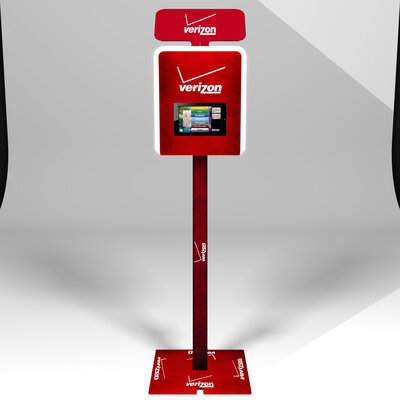 LOS GATOS PHOTO BOOTH - Vinyl Wrapping - Brandable Photobooth - Verizon2