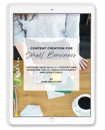 Content Creation for Small Business iPad