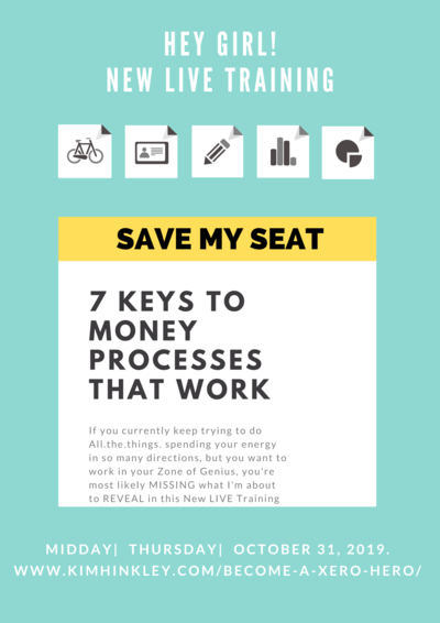 7 KEYS TO MONEY PROCESSES THAT WORK