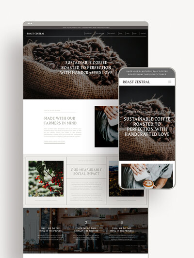E-Commerce Showit Website Template | Website Templates for the Social Entrepreneur | Studio Humankind
