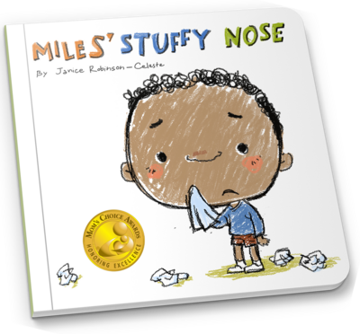 Miles Stuffy Nose Board book 2