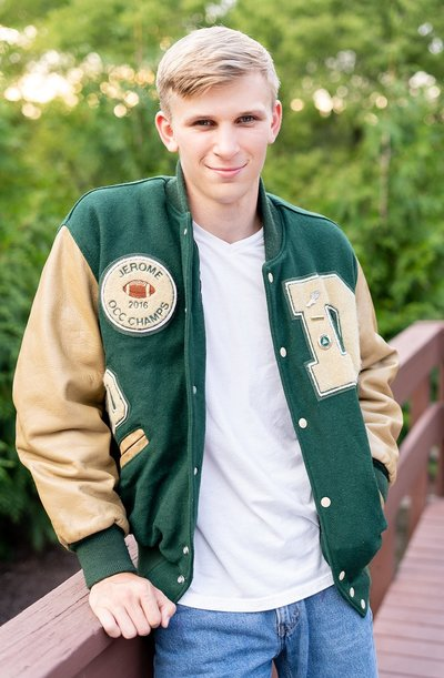 Senior Pictures,  Dublin Jerome High School
