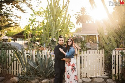 Los Rios District Engagement Photos San Jaun Capistrano Orange County Weddings Professional Photography