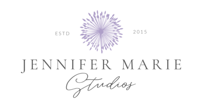 Logo for Jennifer Marie Studios Atlanta wedding photographer