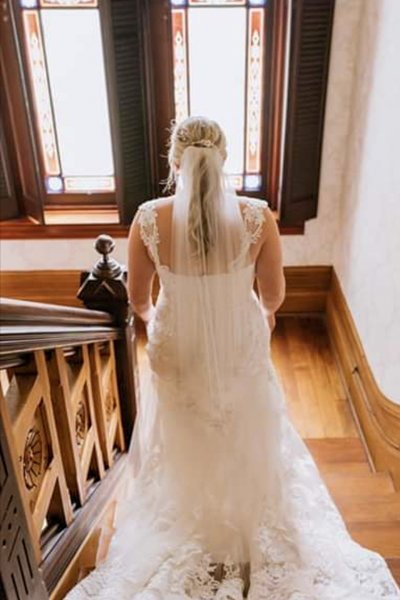 Lynwood Estate - Kentucky Wedding Venue - Bride in Historic House