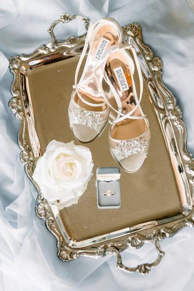 Elegant and timeless Skyline Country Club wedding bridal details photo Classic Tucson Saguaro Buttes Desert Wedding Photo | Tucson Wedding Photographer | West End Photography