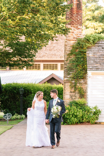 Classic Traditional Southern Wedding at The Sutherland in Wake Forest NC
