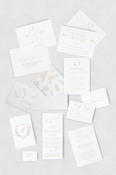 pirouettepaper.com | Wedding Stationery, Signage and Invitations | Pirouette Paper Company | Semi Custom Invitations | The Sienna 07